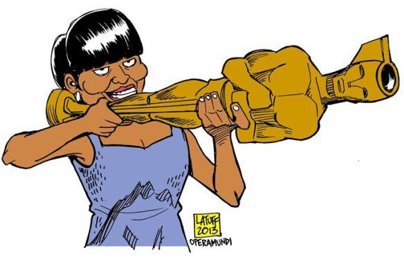 Michele Obama Oscar Iran