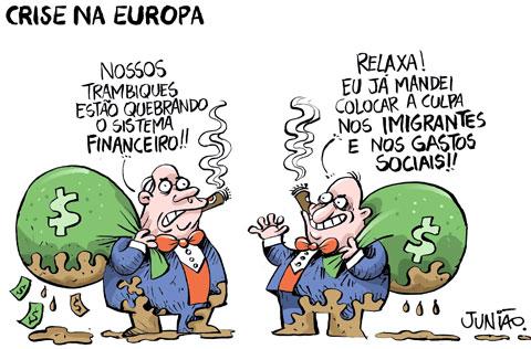 crise na europa